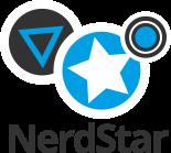 NerdStar Logo+Typo-black